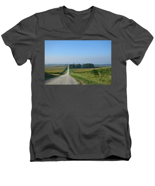 On The Road Again Men's V-Neck T-Shirt