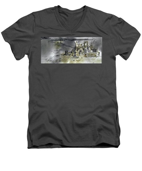 On The Road II Men's V-Neck T-Shirt