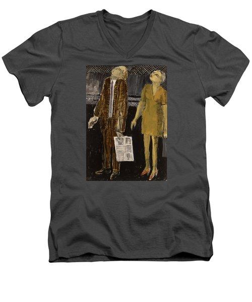 On The Street Men's V-Neck T-Shirt