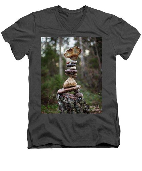 On The Stump Men's V-Neck T-Shirt