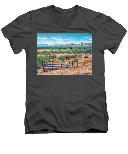 On The Texas Plans Men's V-Neck T-Shirt