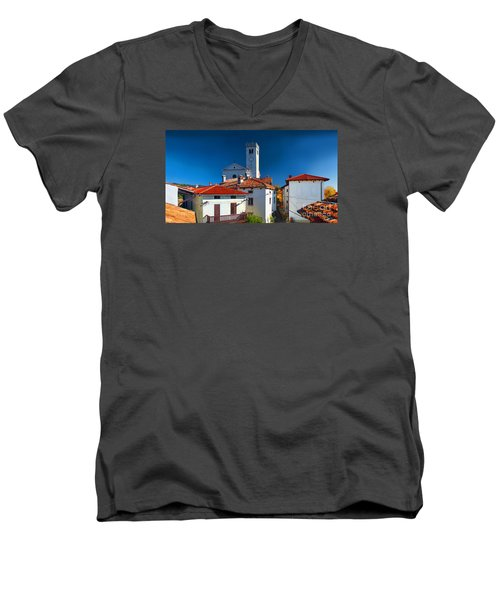 On The Tiles Men's V-Neck T-Shirt