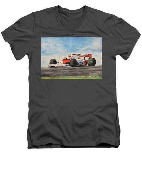 On The Top Men's V-Neck T-Shirt