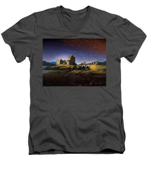 On The Way Home Men's V-Neck T-Shirt