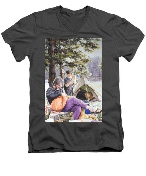 On Tulequoia Shore Men's V-Neck T-Shirt