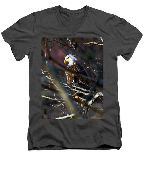 On Watch Men's V-Neck T-Shirt