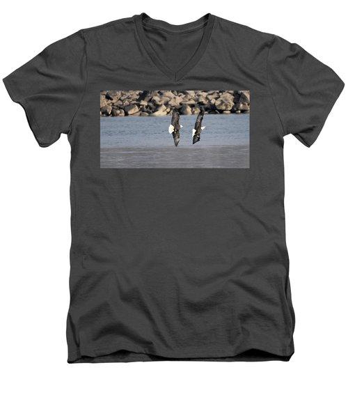 On Your Six Men's V-Neck T-Shirt