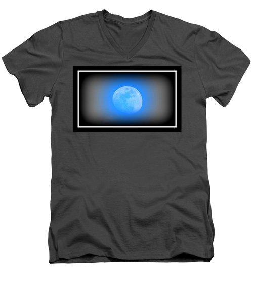 Once In A Blue Moon Men's V-Neck T-Shirt