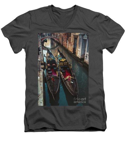 Once In Venice Men's V-Neck T-Shirt