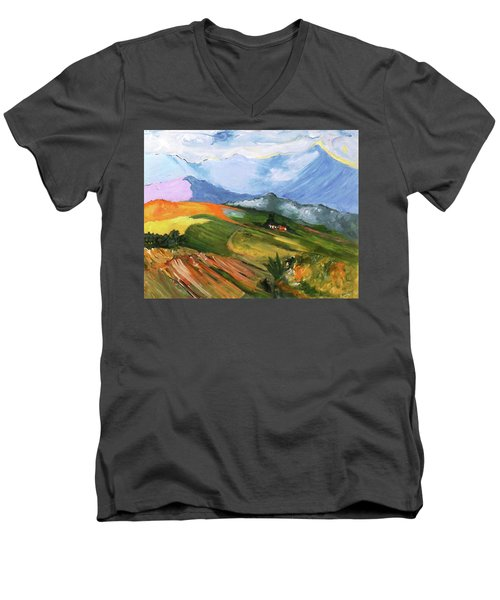 Once There Were Green Fields Men's V-Neck T-Shirt