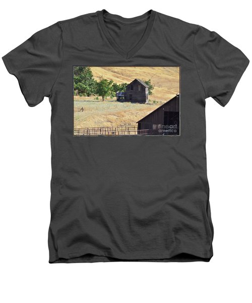 Once Upon A Homestead Men's V-Neck T-Shirt
