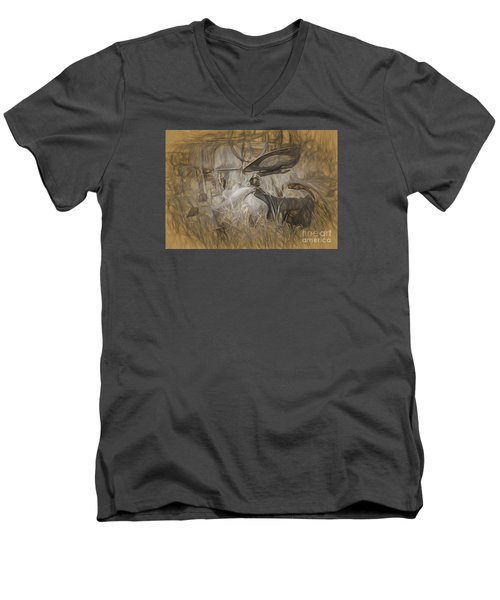 Once Upon A Time Men's V-Neck T-Shirt by JRP Photography