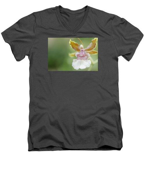 Oncidium Surprise Men's V-Neck T-Shirt by Mary Angelini