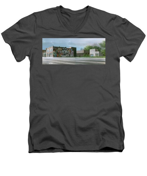 One Artist To Another Men's V-Neck T-Shirt