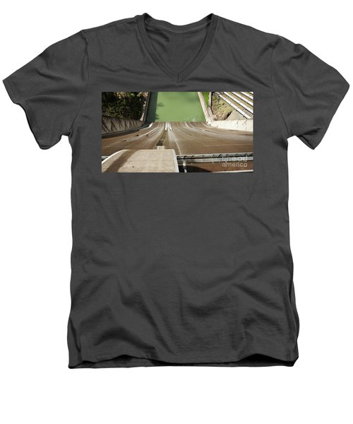 One Heckuva Waterslide Men's V-Neck T-Shirt