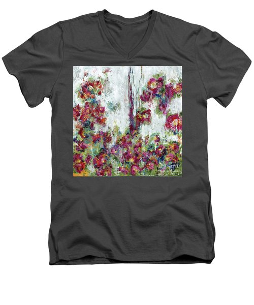 One Last Kiss Men's V-Neck T-Shirt by Kirsten Reed