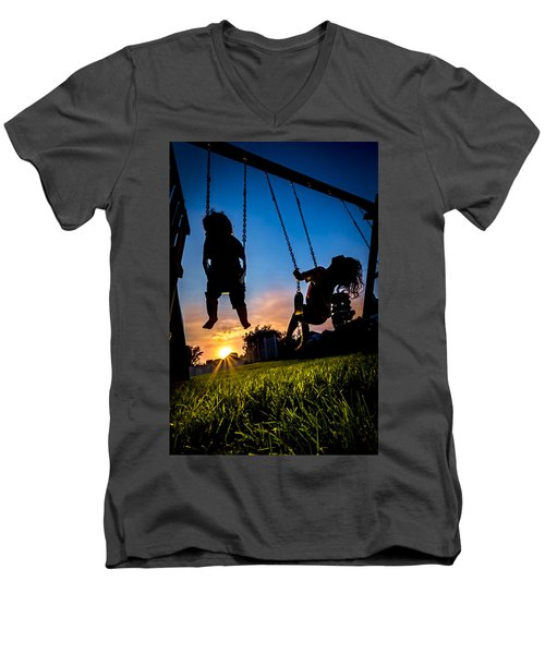 One Last Swing Men's V-Neck T-Shirt