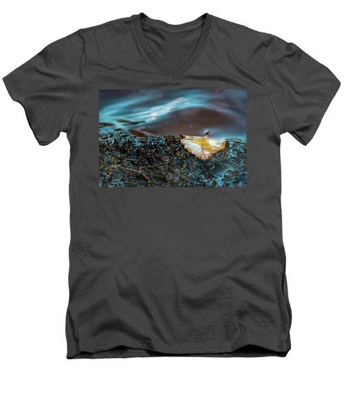 One Leaf Men's V-Neck T-Shirt