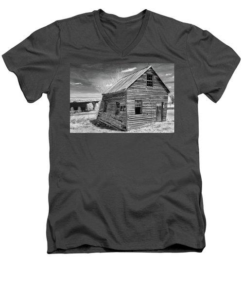 One Room Schoolhouse Men's V-Neck T-Shirt by Paul Seymour