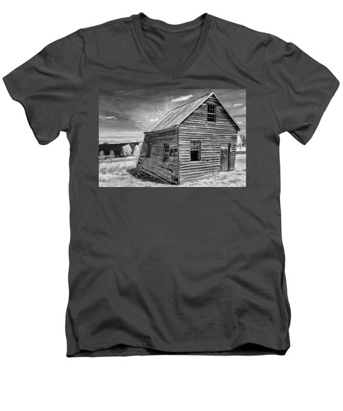 One Room Schoolhouse Men's V-Neck T-Shirt