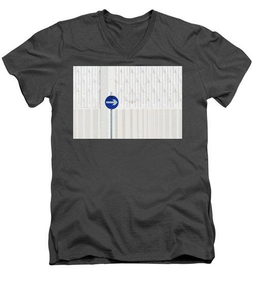 One Way 2 Men's V-Neck T-Shirt