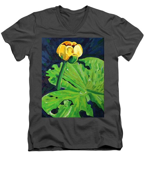 One Yellow Lily Men's V-Neck T-Shirt