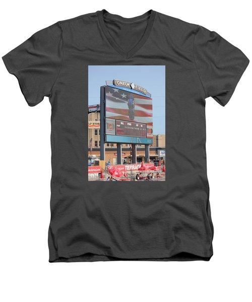 Oneok Field Men's V-Neck T-Shirt