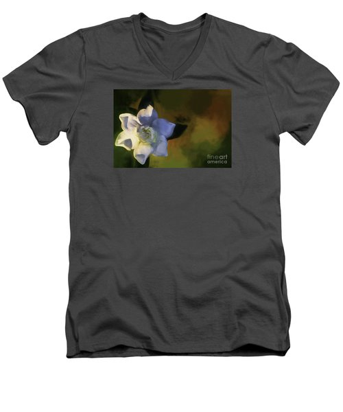 Only One Men's V-Neck T-Shirt by Ken Frischkorn