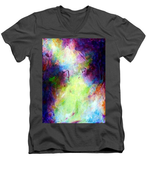 Only Time Will Tell Men's V-Neck T-Shirt by Tracy Bonin
