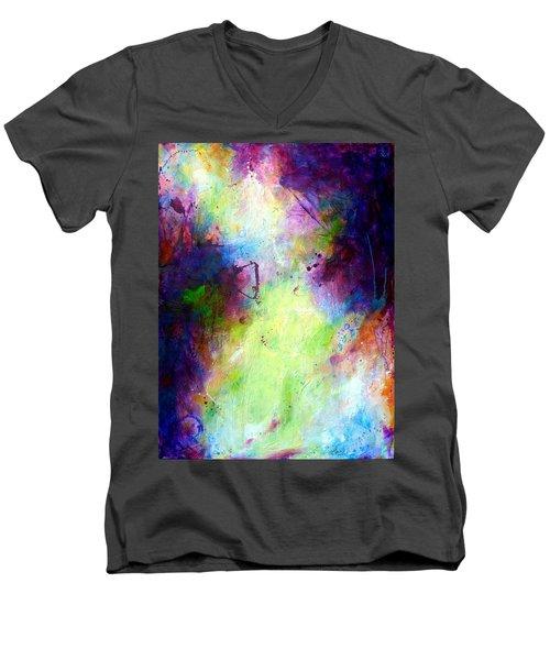 Only Time Will Tell Men's V-Neck T-Shirt