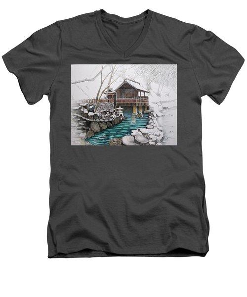 Onsen Men's V-Neck T-Shirt