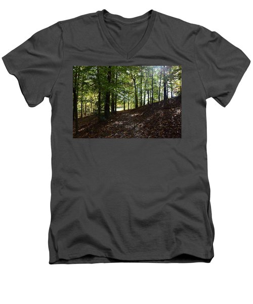 Onto The Unknown Men's V-Neck T-Shirt