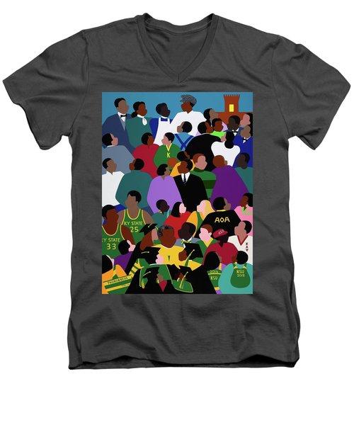 Onward And Upward Men's V-Neck T-Shirt