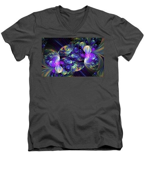 Opal Essence Men's V-Neck T-Shirt