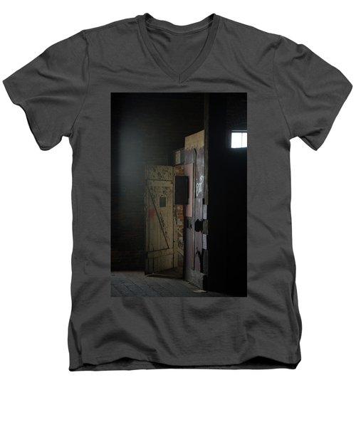 Open Door Men's V-Neck T-Shirt
