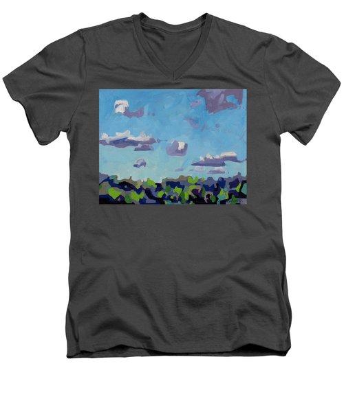 Open Gallery Cu Fractus Men's V-Neck T-Shirt