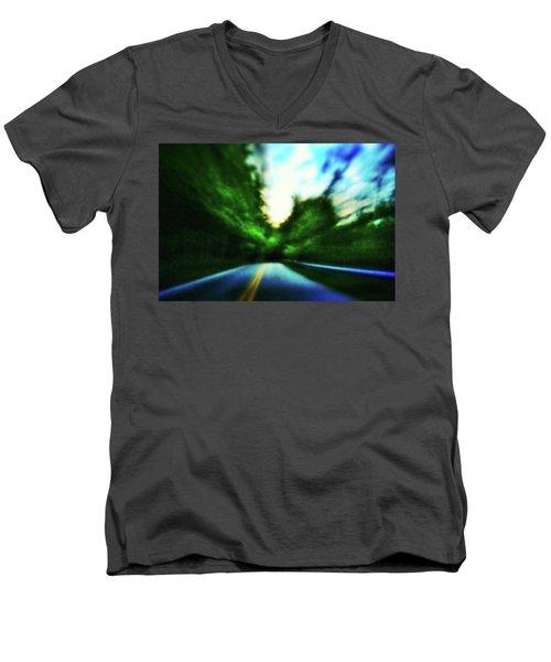 Open Road Men's V-Neck T-Shirt