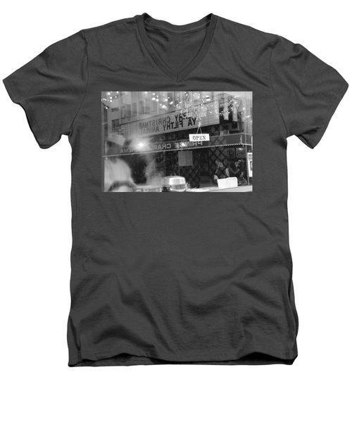 Open Screening Men's V-Neck T-Shirt