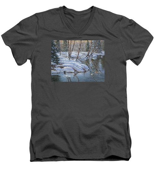 Open Water Men's V-Neck T-Shirt