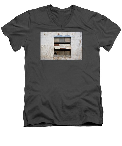 Opened Window Men's V-Neck T-Shirt by Sandra Church