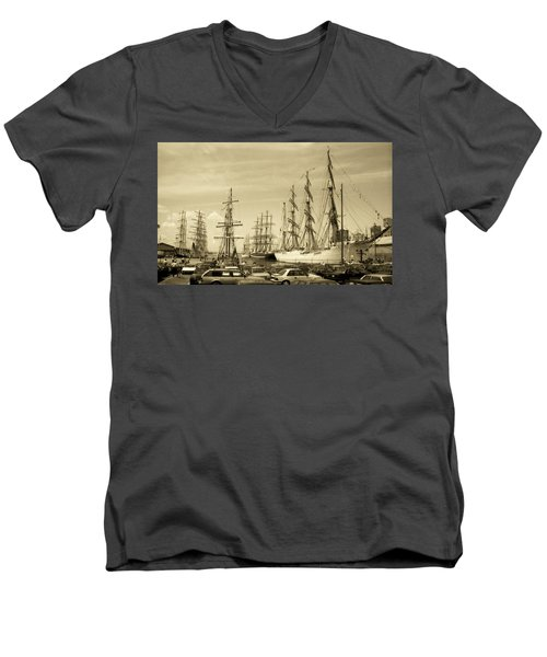 Operation Sail 1992 Brooklyn Men's V-Neck T-Shirt