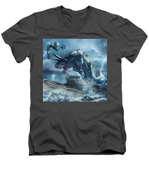 Ophiotaur Attack Men's V-Neck T-Shirt