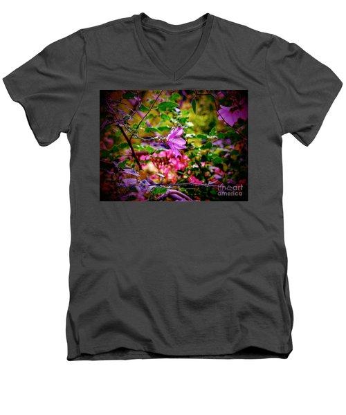 Opulent Lily Men's V-Neck T-Shirt