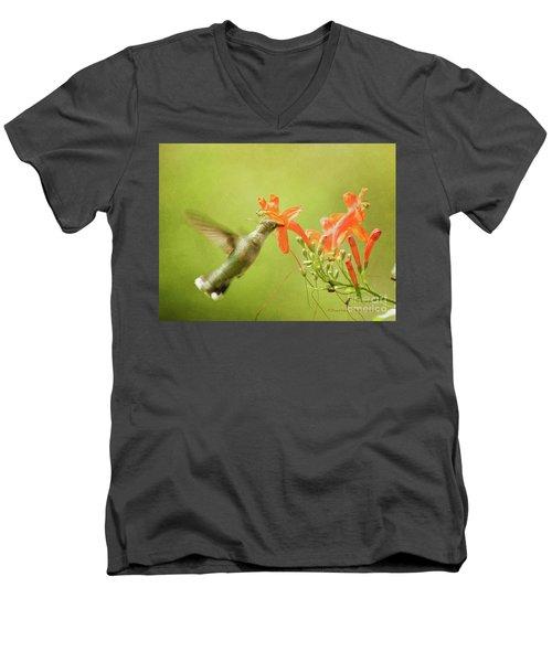 Orange Treat Men's V-Neck T-Shirt