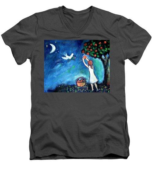 Oranges Song Men's V-Neck T-Shirt