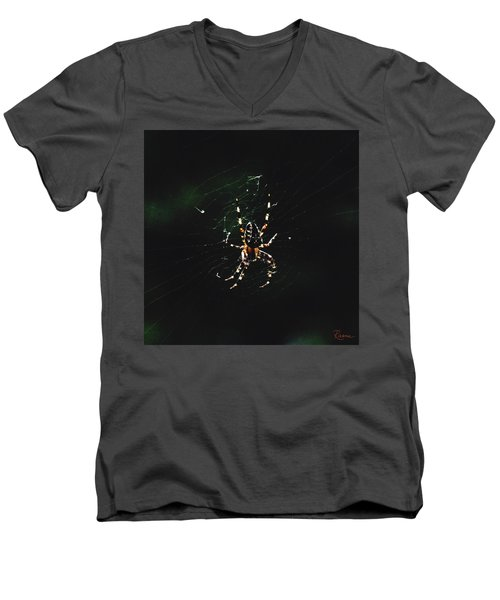 Orb Weaver Men's V-Neck T-Shirt
