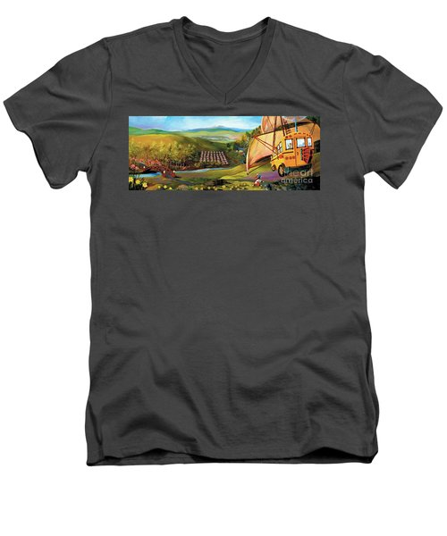 Orchard Valley Men's V-Neck T-Shirt