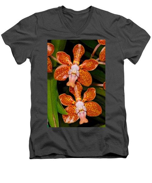 Orchid 450 Men's V-Neck T-Shirt