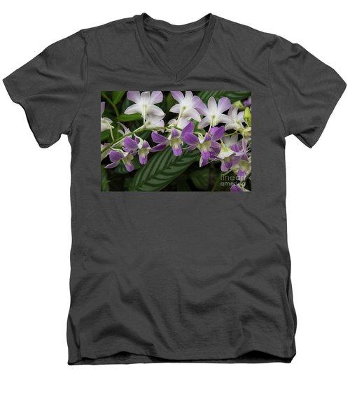 Orchid Beauty Men's V-Neck T-Shirt