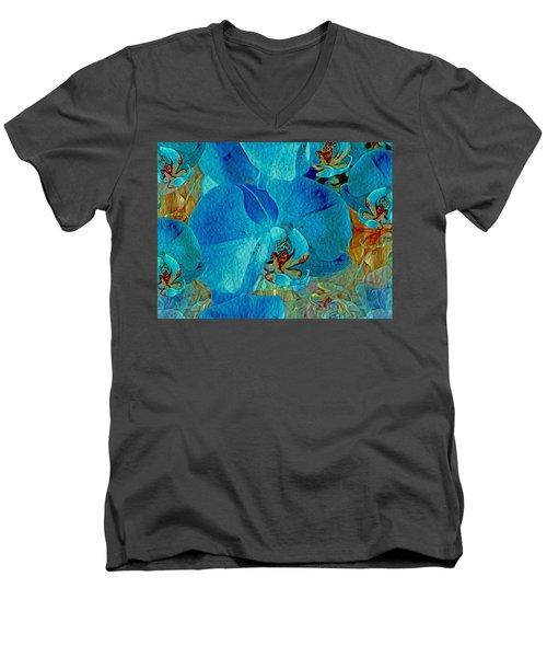 Orchid Reverie 10 Men's V-Neck T-Shirt